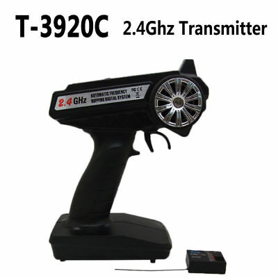 $36.99 • Buy T3920C 2.4GHz  3-Channel Dual Mode Radio Transmitter Receiver For RC Car / Boat