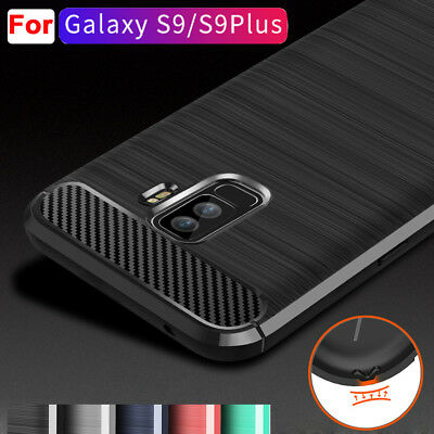 $ CDN3.80 • Buy For Samsung Galaxy A8 S9 Plus Case Shockproof Armor Rubber Anti-Slip Cover Shell