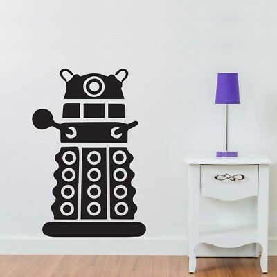 Large Dr Who Dalek Wall Art Bedroom Livingroom Kitchen Vinyl Decal Sticker Mural • 9.99£