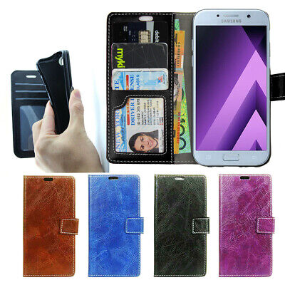 AU7.93 • Buy Wallet Leather Case Cover For Samsung Galaxy J5 J7 Pro 2017 AU