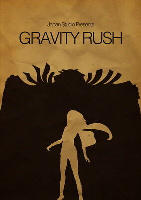 AU8.92 • Buy 015 Gravity Rush 2 - Action Fight Game 14 X19  Poster