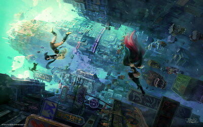 AU8.92 • Buy 018 Gravity Rush 2 - Action Fight Game 22 X14  Poster