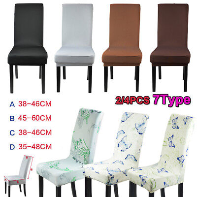 AU14.89 • Buy 2/4 Stretch Dining Chair Cover Washable Removable Slipcover Dinning Seat Cover