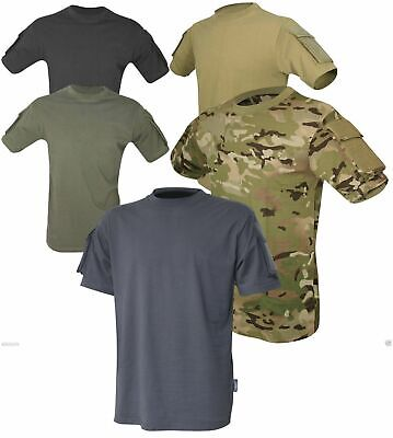 Viper Tactical Short Sleeved T-Shirt UBACS Ops Airsoft Military Army V-Cam Black • 22.45£