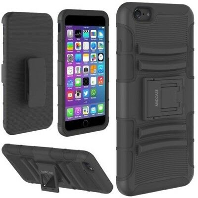 AU2.93 • Buy MadCase Apple IPhone 7Plus Trio Armour Durable 3 In 1 Double Layer Holster Case