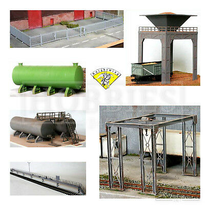 Knightwing Railway Plastic Model Building Kits OO HO Gauge Scale Track Line Side • 9.99£