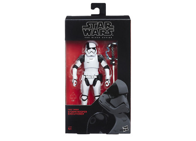Stormtrooper Executioner 6  Inch First Order Star Wars Black Series *brand New* • 19.99£
