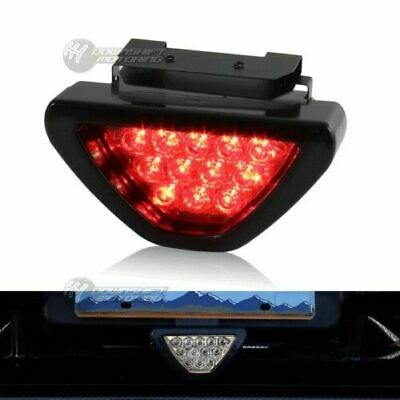 $7.99 • Buy SPORTY F1 Style Triangle 12-LED Rear Stop Tail 3rd Brake Lights Universal 1