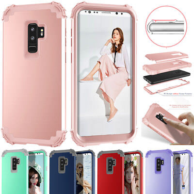 $ CDN1.98 • Buy Shockpproof Hybrid Durable PC Armor Hard Case Cover For Samsung Galaxy S8 S9Plus