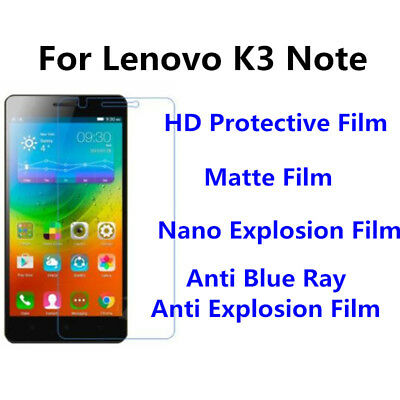 AU6.65 • Buy 3pcs For Lenovo K3 Note High Clear/Matte/Anti Blue Ray Screen Protector