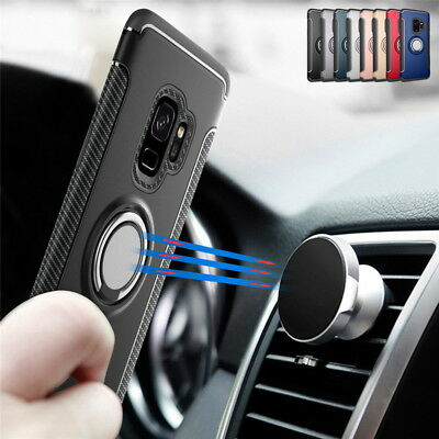 $ CDN5.96 • Buy Magnetic Kickstand Ring Holder Case Cover For Samsung Galaxy S20 S10 S8 S9 Plus