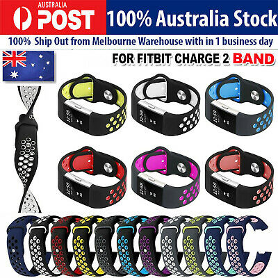 AU10.55 • Buy Fitbit Charge 2 Band Silicone Strap Replacement Watch Band Wristband Bracelet