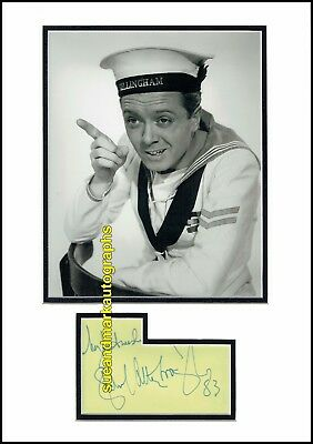 Richard Attenborough This Happy Breed In Which We Serve Autograph UACC RD 96 • 40£