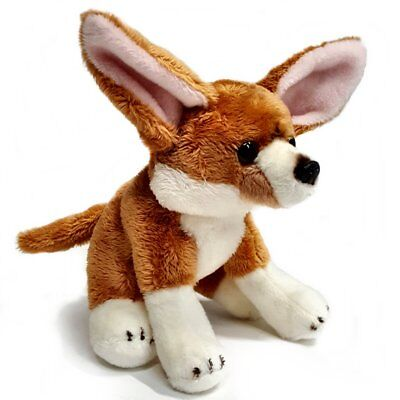 15cm Fennec Fox Cuddly Soft Toy - Suitable For All Ages (0+) • 9.99£