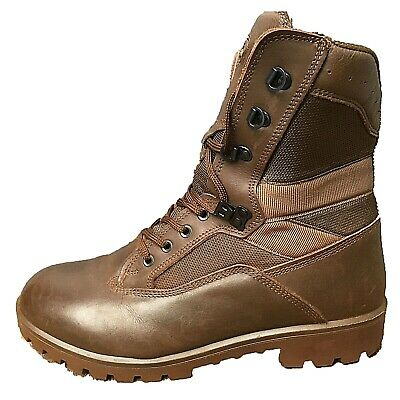 YDS Kestrel Brown British Army Boots MTP Surplus Issue Leather Combat Cadet Mens • 35£