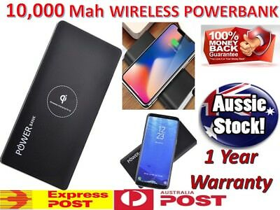 AU35.88 • Buy Wireless 100000mah Portable Universal Battery Charger Dual USB Power Bank IPhone