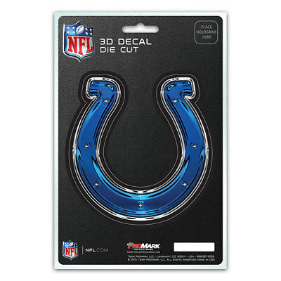 $3.98 • Buy Official Licensed - NFL Indianapolis Colts 3D Die Cut Decal Sticker Made In USA
