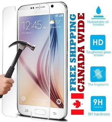 $ CDN9.95 • Buy Tempered Glass Protection Samsung Galaxy S9 S8 S7 S6 S5 S4 Note 3 4 5 8 9 Edge +