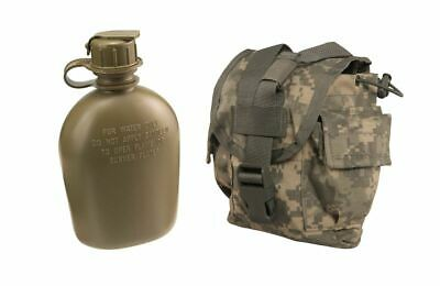 $ CDN22.93 • Buy US Military 1 QT Quart NEW CANTEEN + MOLLE ACU USED COVER General Purpose Pouch