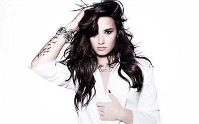 009 Demi Lovato - USA Singer Actress 22 X14  Poster • 4.49£