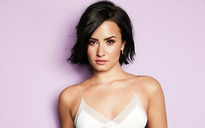 008 Demi Lovato - USA Singer Actress 22 X14  Poster • 4.49£