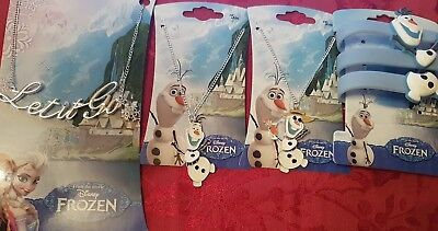 Disney Frozen Anna Olaf Jewellery And Accessories - Necklace, Bracelet • 1.99£