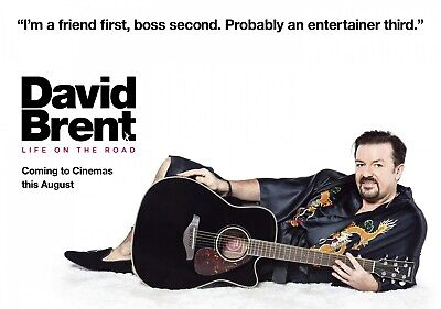 £4.99 • Buy DAVID BRENT: LIFE ON THE ROAD Movie PHOTO Print POSTER Ricky Gervais Office 002