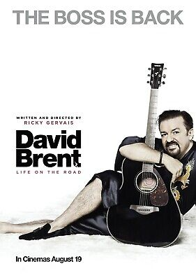 £4.99 • Buy DAVID BRENT: LIFE ON THE ROAD Movie PHOTO Print POSTER Ricky Gervais Office 004