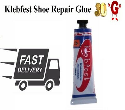 Klebfest Shoe Repair Glue 30g For Leather & Rubber Contact Adhesive Shoe-Stick • 2.99£