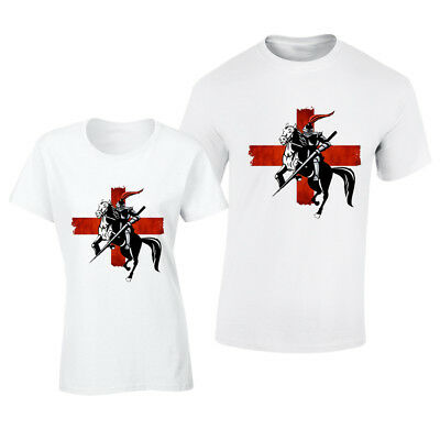 £5.99 • Buy St George England English Football Top T-shirt Mens,Ladies Fit Holidays,Summer,