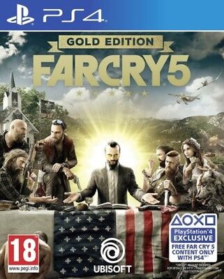 AU174.95 • Buy Far Cry 5 Gold Edition PS4 Game