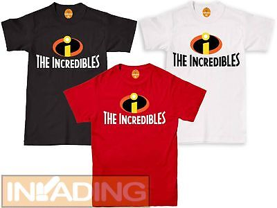 The Incredibles Family Cosplay Costume Funny Gift Film Movie Inspired T-shirt >> • 6.89£