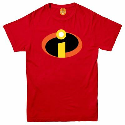 The Incredibles Superhero T Shirt Disney Pixar Funny Joke Birthday Gift Men Top • 6.89£