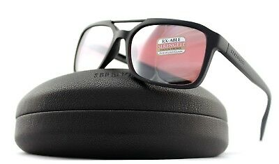 $131.54 • Buy POLARIZED New SERENGETI RENZO Satin Black Sedona Bi Photochromic Sunglasses 8625