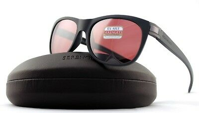 $164.43 • Buy POLARIZED New Authentic SERENGETI SCALA Satin Grey Satin Sedona Sunglasses 8605