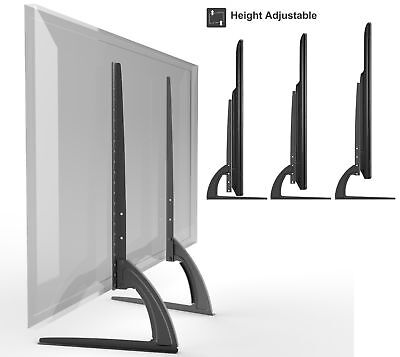 AU57.32 • Buy Universal Table Top TV Stand Legs For Sony Bravia KDL-55HX800 Height Adjustable