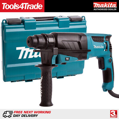 View Details Makita HR2630 SDS Plus Rotary Hammer Drill 3 Mode 240V Replaces HR2610 • 105.50£