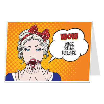 Funny New Home Card Congratulations Moving House Card For Him Men • 2.99£