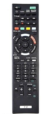 £5.90 • Buy Aftermarket Replacement Remote Control FOR Sony TV KDL42W815B / KDL-42W815B