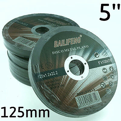 AU32.95 • Buy 50PC 125mm 5  CUTTING DISC WHEEL Thin 4 Angle Grinder Stainless Steel Metal Cut