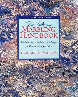 AU84.82 • Buy The Ultimate Marbling Handbook  ( Signed By The Author)