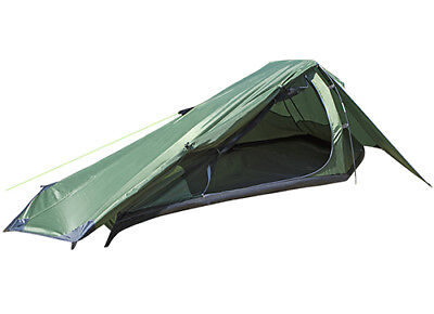 Summit Tent Eiger Trekker 1 Man Person Fishing Camping Quick Easy Pitch 2000Hh • 40£