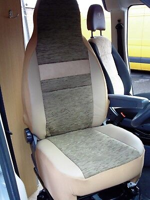 Semi Fit A Fiat Ducato 2005 Motorhome, Seat Covers, Penelope Mh-493 • 79.99£