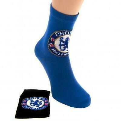 £2.95 • Buy Chelsea Football Club Crested Childrens Socks 2 Pack Size 9-12 - Brand New