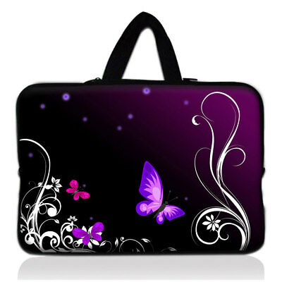 15.6 Inch Laptop PC Butterfly Shoulder Bag Carrying Soft Notebook Case Cover • 6.99£
