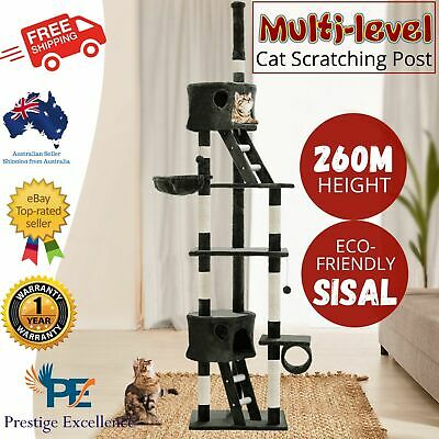 AU147.97 • Buy IPet Large Cat Scratching Post Furniture Tree Pole House Condo Gym Toy Scratcher