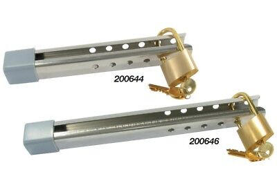 AU68.90 • Buy Outboard Motor Lock With Padlock -  Boat - BLA 200646 - Anti Theft Device