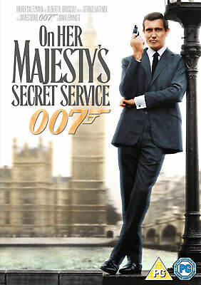 On Her Majesty's Secret Service [1969] (DVD) George Lazenby, Diana Rigg • 4.99£