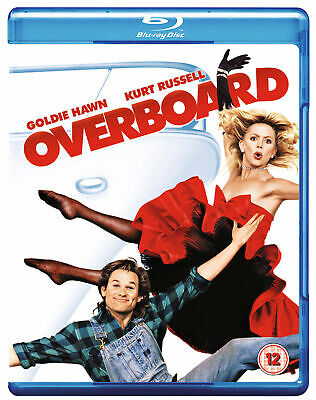 Overboard [1987] (Blu-ray) Goldie Hawn, Kurt Russell • 7.99£