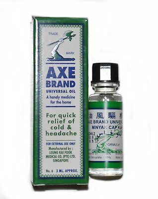 $3.14 • Buy Axe Brand Universal Oil | Effective Quick Fast Relief Cold And Headache | - 3ml